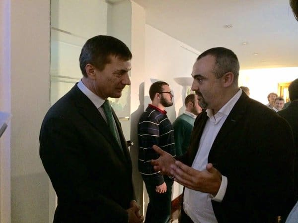 EU Commission Vice President Andrus Ansip Meeting Italian Startup Ecosystem Stakeholders at Pi Campus