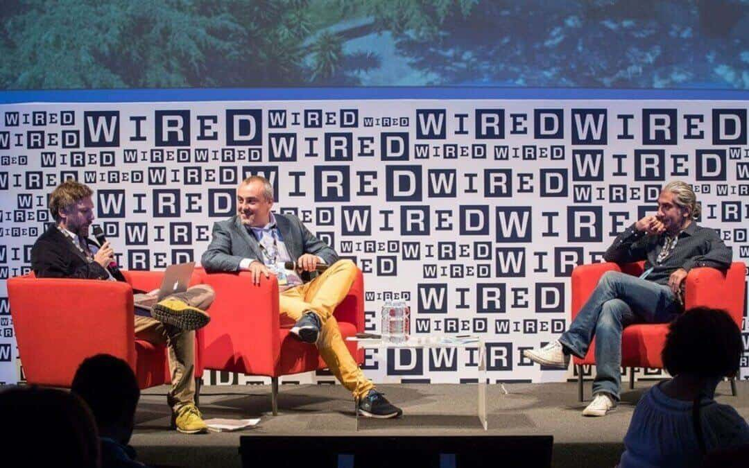 Talking about the merge of creativity and technology at Wired Next Fest